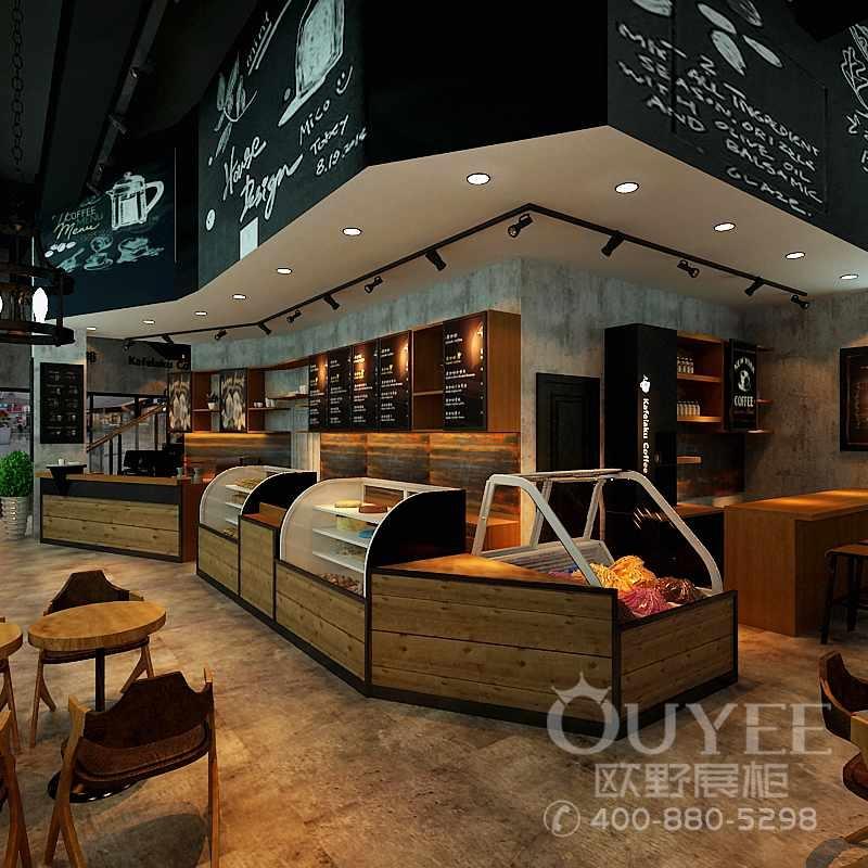 咖啡奶茶店餐饮吧台