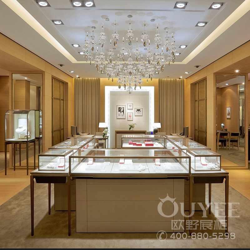 玻璃珠宝首饰烤漆展示柜