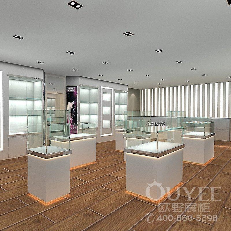 北京朝阳区120平方珠宝店铺