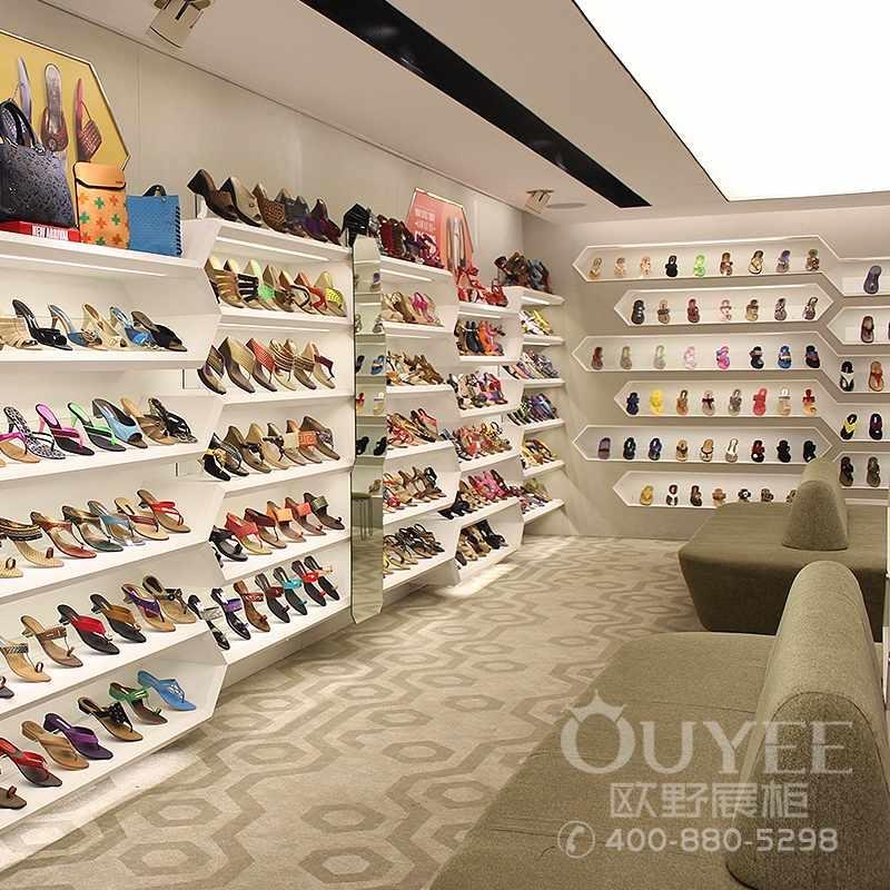 时尚女鞋精品展示柜