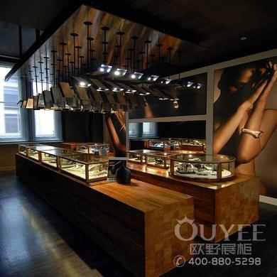 新品玉器展柜商场珠宝柜