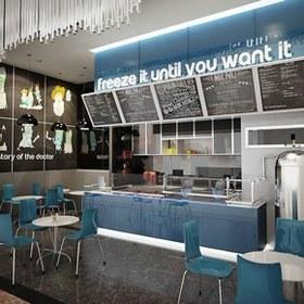 Restaurant Display Showcase